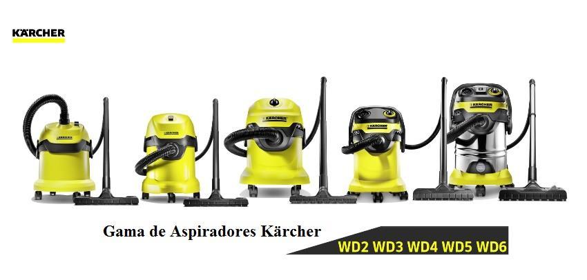 Gama de aspiradores Karcher - ventakarcher