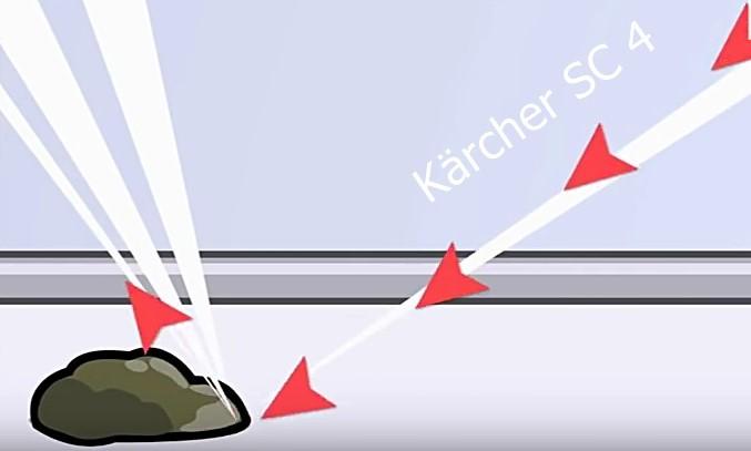 Vaporeta Karcher SC 4 Limpia hasta la suciedad más dificil