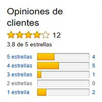 Rating de la Karcher SC2 Amazon España