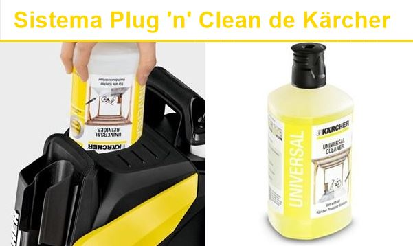 Sistema plug 'n' clean.