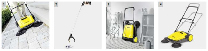 Barredora karcher S 650