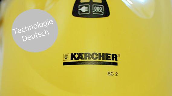 karcher SC2 tecnología alemana