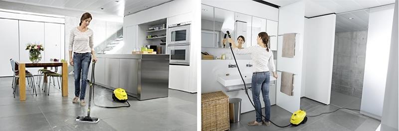 vaporeta karcher SC 3 - Limpia cualquier espacio de tu casa