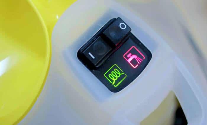 Vaporeta karcher sc 4 indicadores