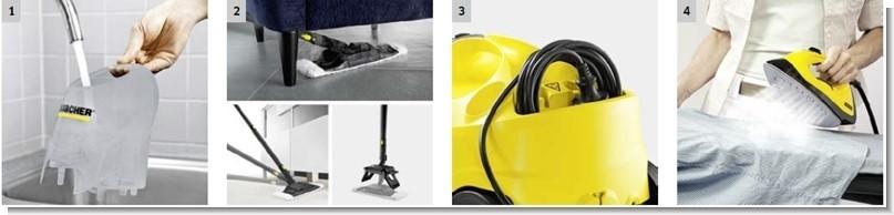 vaporeta karcher sc4 - Seguridad y rendimiento máximo.