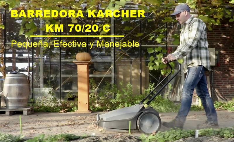 Barredora KM 70 20 C Rápida y efectiva