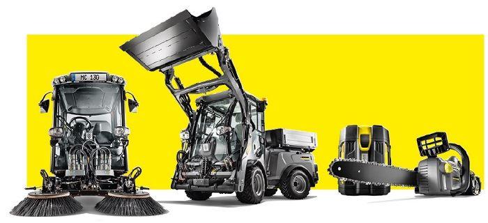 Equipo de limpieza municipal Karcher profesional