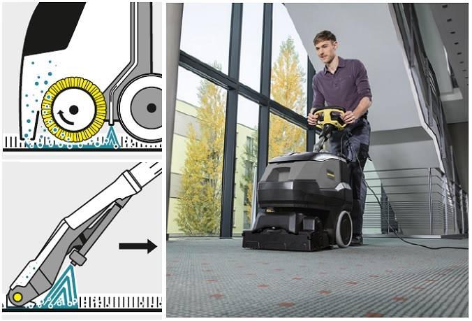 Equipos para la limpieza de alfombras Karcher