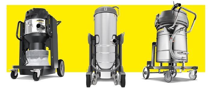 Aspiradores karcher para uso industrial