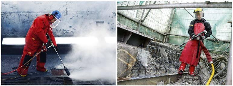 hidrolimpiadoras profesionales karcher de ultra alta presión.