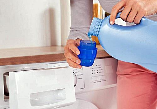 Cuando toma el suavizante la lavadora