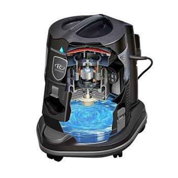 Depósito del depósito de una aspiradora de agua