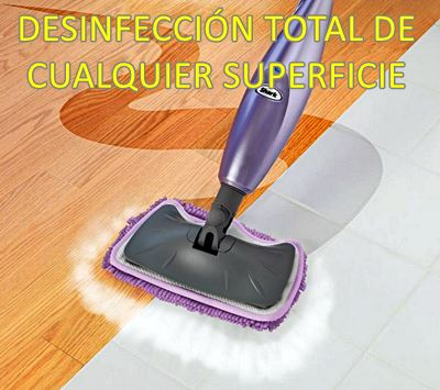 Desinfección total de cualquier superficie con la vaporeta - Como usar una vaporeta