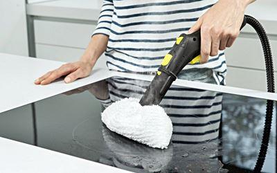 La vaporeta es ideal para la limpieza de la cocina - como usar la vaporeta
