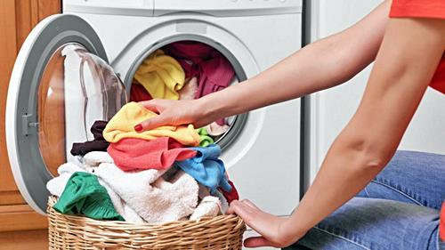 Llene la lavadora pero sin pasarse