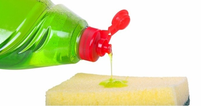 Jabón para lavar la plancha de teflón