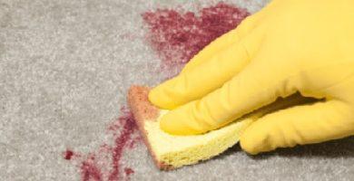 Limpiar pintura del suelo