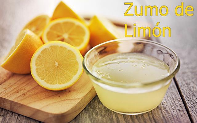 Zumo de limón - cómo limpiar la plancha