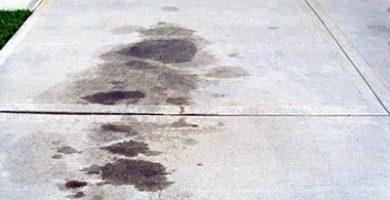 cómo quitar el aceite del suelo