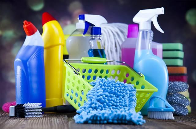 Donde y como usar un limpiador desinfectante