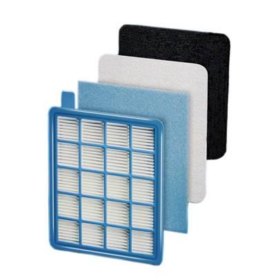 Filtro HEPA con filtros para partículas más grandes