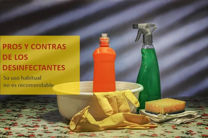 Ventajas y desventajas del uso de un limpiador desinfectante