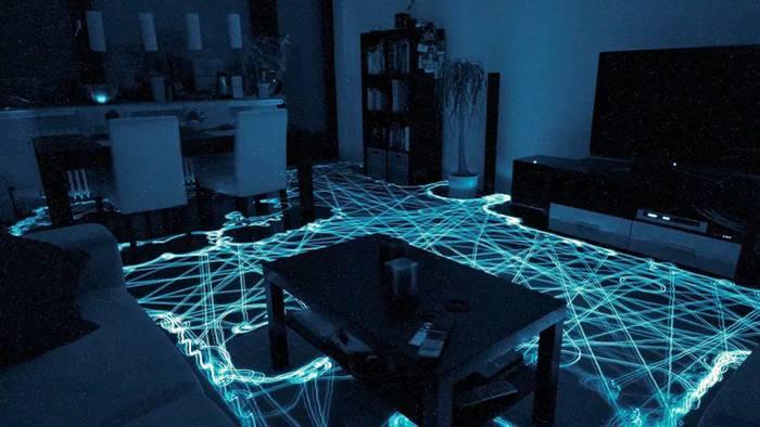 Navegación del irobot Roomba en una habitación