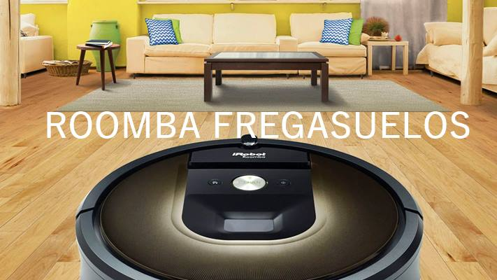 Roomba fregasuelos