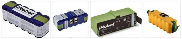 Tipos de baterias de robots de limpieza irobot
