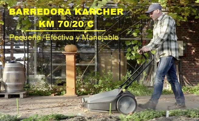 Barredora manual karcher km 70 20