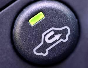 Botón de recirculación del aire