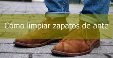 Cómo limpiar zapatos de ante muy sucios