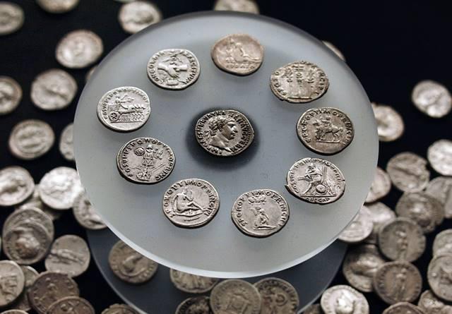 Limpiar monedas de plata antiguas