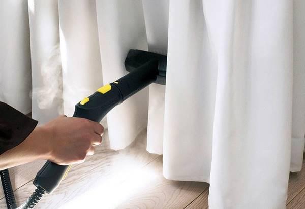 cómo lavar las cortinas sin descolgarlas