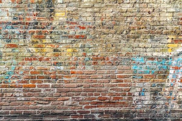 Quitar grafitis del ladrillo