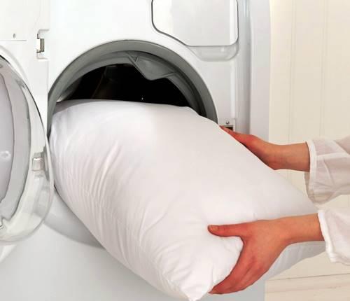 ¿Se pueden lavar las almohadas en la lavadora?