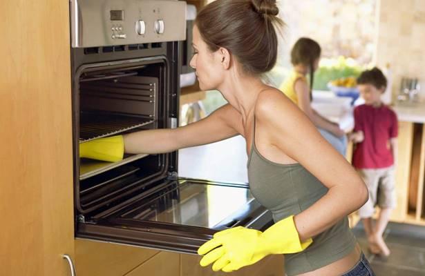 como limpiar el horno