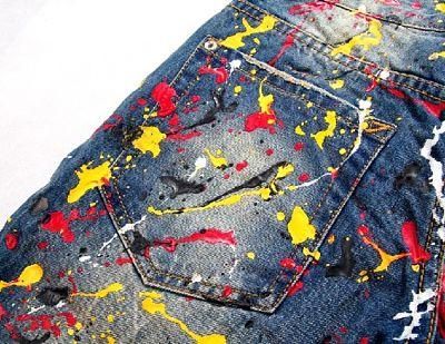 como quitar manchas de pintura en la ropa fácilmente