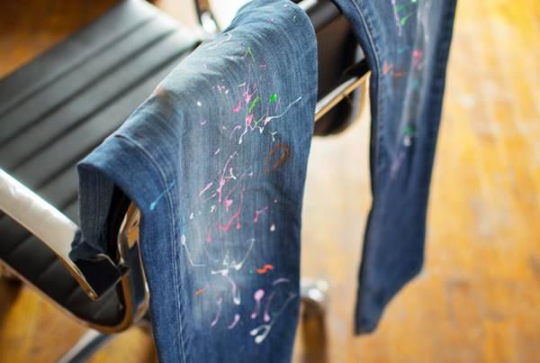 como quitar las manchas de tinta de color